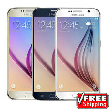 Samsung Galaxy S6 32GB SM-G920P Factory Unlocked LTE Blue Gold White Smartphone