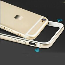Ultra Thin Aluminum Metal Bumper Frame Silicone Case Cover for iPhone 6 6S Plus