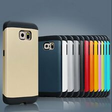 For Samsung Galaxy S6/Edge/S5 Cover Case Shockproof Soft Rugged Rubber Hard Skin