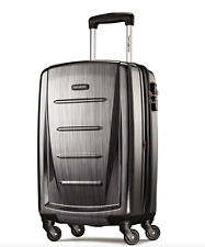 Samsonite Luggage Winfield 2 Fashion HS Spinner 20in Charcoal Hardside Suitcase