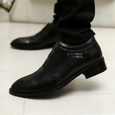 Men's Leather Carving Dress Casual Shoes Oxfords Italian Formal Work Shoes