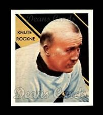 1935 National Chicle Repr #9  Knute Rockne  NM/MT G3555