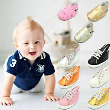 Infant Baby Girl Boy leather Pre-walker Shoes Toddler Crib Shoe 0-12 months