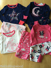 NWT Gymboree Girls Gymmies Cotton Pajamas PJs Set SZ 12 18 24 M 3 4 Toddler
