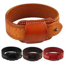 Ruller Belt Bracelet Cool Men Leather Belt Wristband Fashion Punk Bangle