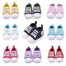 0-18 Months Newborn Infant Baby Toddler Sneakers Boys Girls Soft Sole Crib Shoes