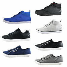 Voi Jeans Mens Classic Designer Trainers - NOW