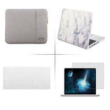 fit Apple macbook pro Air Screen protecotor keyboard cover sleeve bag hard case