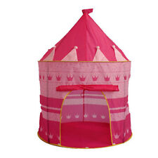 Folding Funny Play Tent Kids Girl Fairy Princess Castle Fairy House Cubby Gifts
