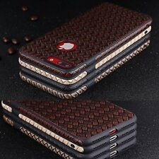 Luxury Ultra Thin PU Leather Soft Back Cover Case For iPhone 7 6 6S Plus 5 5S SE