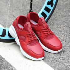 New Mens Lace Up Breathable Mesh Athletic Sport Shoes Fashion Sneakers Casual