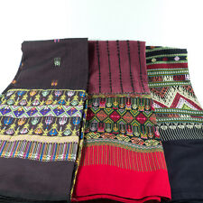 EXCLUSIVE SINH TEEN-CHOK HAND WOVEN THAI TRADITIONAL DECORATE DRESS CLOTHING