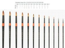 HWAHONG Artist Watercolor Painting Paint Brushes Pointed Round Brush 700 Series