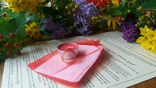LOVE SPELL KIT + AGATE SPELL RING + RED CANDLE by Experienced Powerful Wiccan