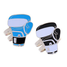 Sturdy Boxing Gloves Magnetic Hat Clip Golf Ball Marker Fit for Cap Visor