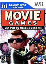 Family Fest Presents: Movie Games - Nintendo Wii - NEW & FACTORY SEALED