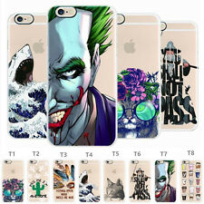 Slim Rubber Soft TPU Silicone Cute Pattern Case Cover For iPhone 8 7 6s Plus 8 6