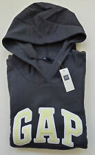 Womens GAP LOGO CHARCOAL GRAY HOODIE SWEATSHIRT Sizes XS, S, M, L, XL - NWT