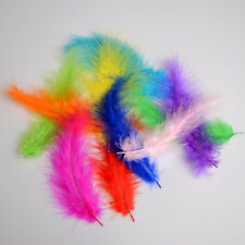 Beautiful 100pcs Decorating Nature Rooster Tail Feathers 12-18cm 4.5-7Inches New
