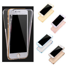 Practical Case Cover Protective Case TPU Case Front + Back For iPhone 6/6S V8L4