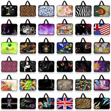 "10 Inch Neoprene Bag Case For 9"" 10"" 10.1"" Netbook Laptop Tablet iPad PC Gifts"