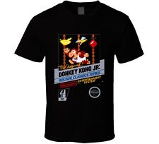 Donkey Kong Jr. Nes Classic Black Box Video Game T Shirt