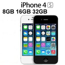 Apple iPhone 4s - 16GB - Black Sim Free Unlocked Smartphone Good Condition