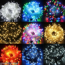 50M/100M 250/500 LED String Fairy Lights Indoor Outdoor Christmas Wedding Party