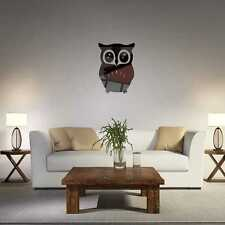 3D Mirror Owl Wall Stickers Bird Removable Reflect Mirror Wall Sticking Decal