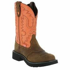 Justin Ladies Cowhide Gypsy Cowgirl Boot Bay Apache Boots L9907 ~ SEVERAL SIZES