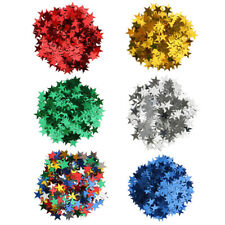 10mm 6mm Wedding Star Table Confetti Scatter Foil Decor Birthday Party Supplies