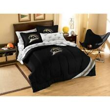 NCAA Applique Bedding Comforter Set with Sheets, Western Michigan University