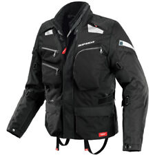 Spidi H2Out Voyager 3 Mens Black Armoured Waterproof Touring Jacket