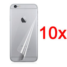 10pcs Back Ultra Clear Screen Protector Cover Film For iPhone 7 6 6s Plus 5S 4S