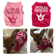 Toy Poodle Dog Clothes T-Shirt Puppy Vest Costume Apparel for yorkie Schnauzer