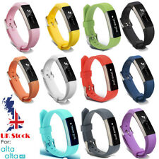 Soft Silicone Replacement Spare Band Strap Twill for Fitbit Alta/Alta HR