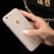 Phone Case Luxury Glitter PC Case For iPhone SE 5 5s 6 6s 6 Plus Bling Hard Back