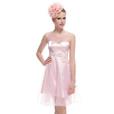 US Short Pink Cocktail Party Dresses Homecoming Prom Gown 03980 Ever-pretty