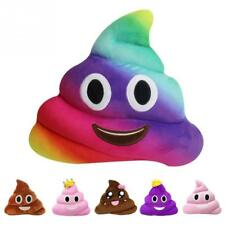 Cute Emoji Smiley Cushion Poo Shape Pillow Stuffed Plush Toy Doll Poop Face