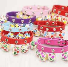 XXS/XS/ Small Chihuahua Teacup Dog Collar and Leash Set Pet Puppy Cat Collar