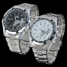 Accurate Automatic Mechanical Luxury Date Analog Man Sport Stainless Steel Watch