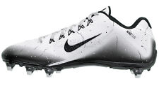 NIKE ALPHA PRO 2 II LOW D MENS FOOTBALL CLEATS w/ DETACHABLE STUDS : WHITE