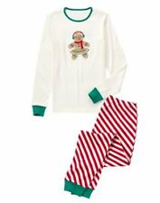 NWT Gymboree Gingerbread MOM Pajamas Gymmies PJS Mommy Women Adult 2 PC SET M L