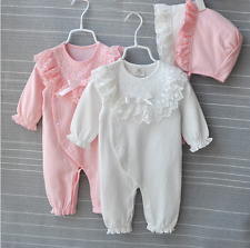 Baby Girl Clothes Cotton Princess Lace Infant Dress Newborn Baby Girl Rompers