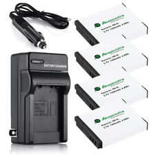 1300mAh NB-6L Battery + Charger for Canon Powershot D10 S95 SD4000 SD700 SX500