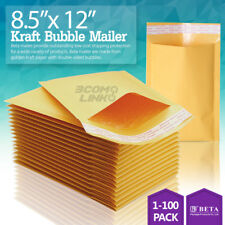 "#2 8.5x12 KRAFT BUBBLE MAILERS PADDED ENVELOPES DVD 8.5"" x 12"""