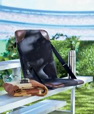 Stadium Seat Chair Heated Sports Outdoor Cushion Backrest Bleacher Portable New