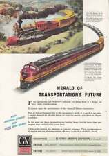 1944 GM Electro Motive: Herald of Transportations Future (18348) Print Ad
