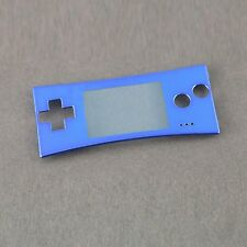 New Front Faceplate Housing Case Cover for Nintendo Game Boy Micro GBM CUSTOM