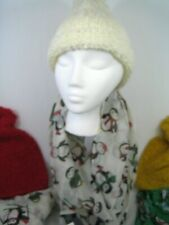 SET Knit Beanie Hat and Scarf, Hat with Pom, Penguin Scarf NWT reg $35 Choose